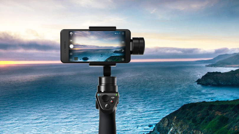 Photo du stabilisateur Dji Osmo Mobile